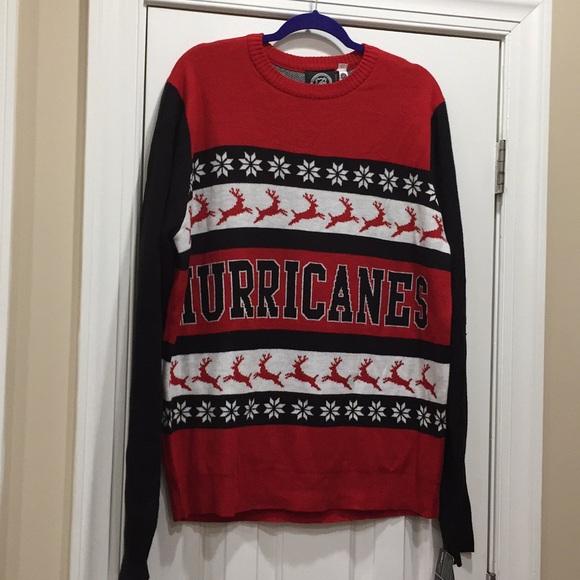 2c579020c Carolina a hurricanes Christmas sweater